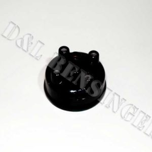 IGNITION DISTRIBUTOR CAP BLACK
