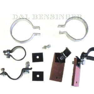 EXHAUST PIPE ROUND MUFFLER HARDWARE KIT