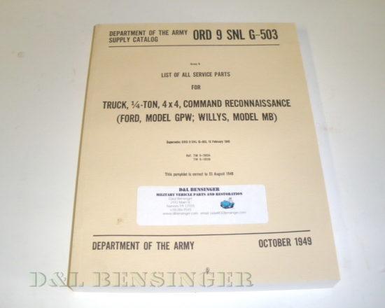 MANUAL MB/GPW ORD 9