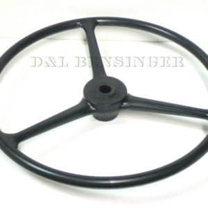 STEERING WHEEL BLACK PLASTIC