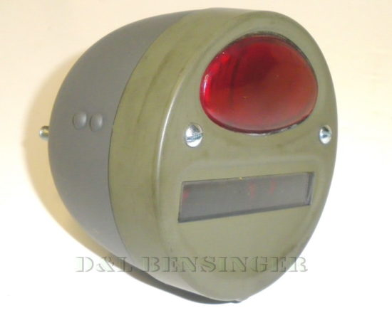 TAILLIGHT 6V LH MB/GPW