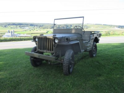 MB JEEP  -  SOLD!!