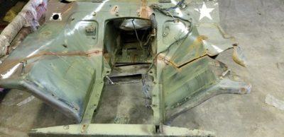 M151A1 1/4 CUT BODY