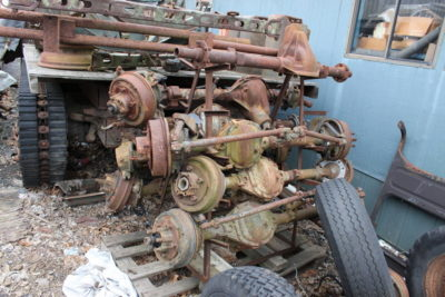 USED AXLE ASSEMBLIES, CALL FOR PRICE