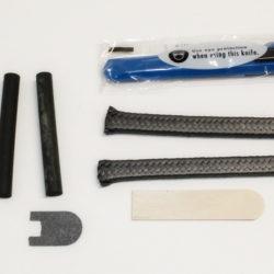 REAR MAIN SEAL KIT (ROPE), L & F ENGINES