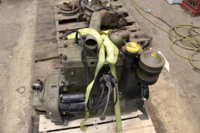 CJ2A ENGINE, REBUILT  ** SOLD **