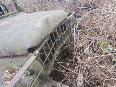 M37 DODGE WITH CONTACT MAINTENANCE BODY