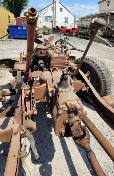 WC CARRYALL FRAME WITH AXLES